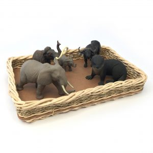 Rectangular Tray - Large Basket