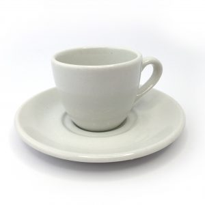 Cup & Saucer - White