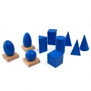 The Blue Geometric Solids