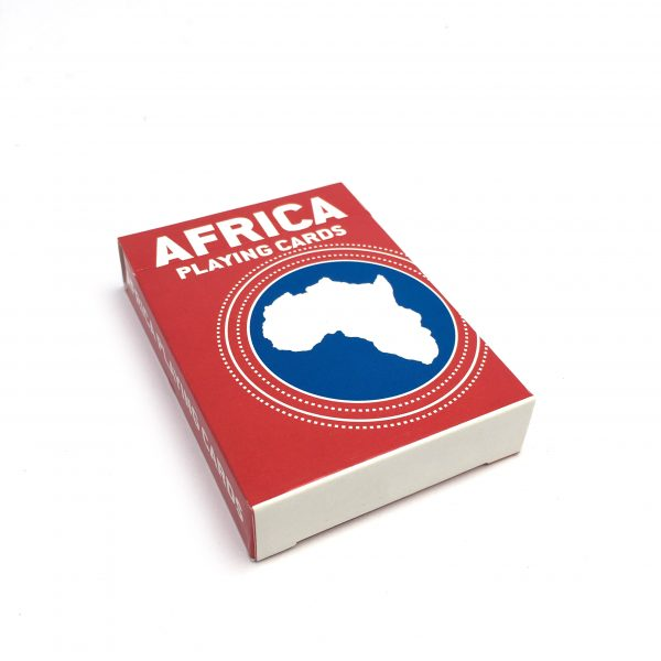 Africa Fact Playing Cards