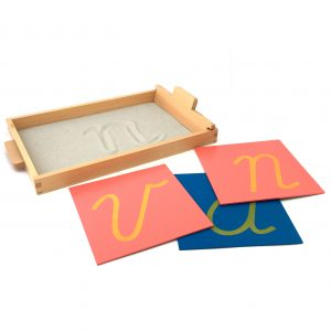 The Sandpaper Letters Tracing Tray