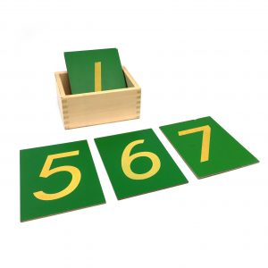 Sandpaper Numerals with Box