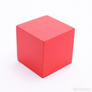 4th Cube of the Pink Tower