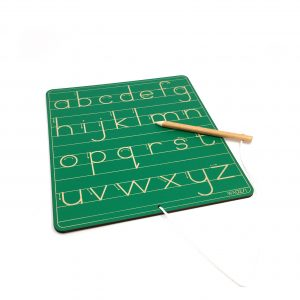 The Writing Board - Lower Case Print