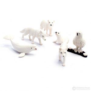Animals in White