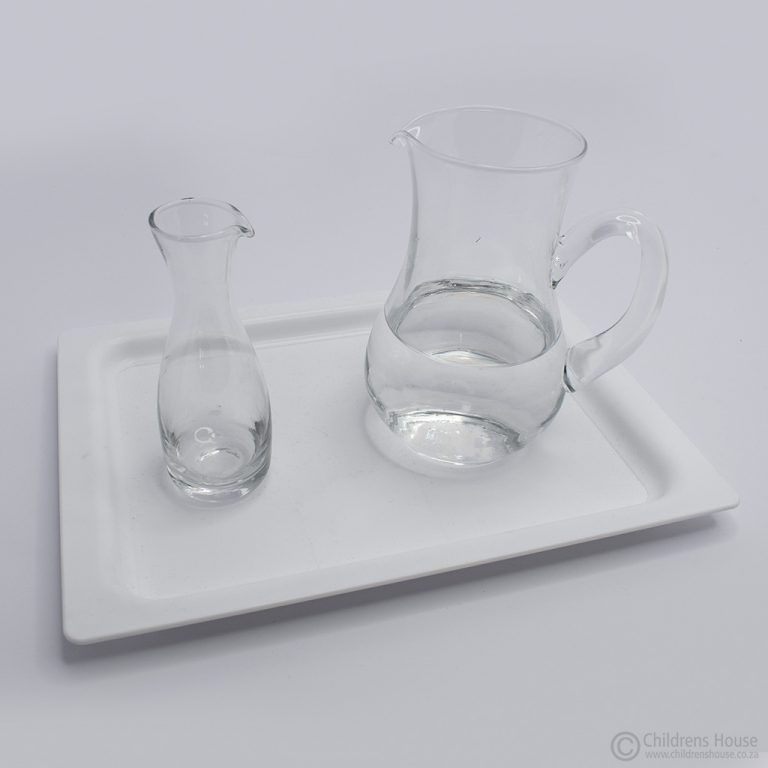 Narrow Neck and Large Jars on Tray