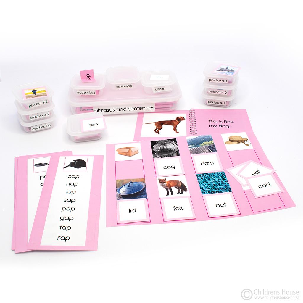 The Montessori Pink Reading Series