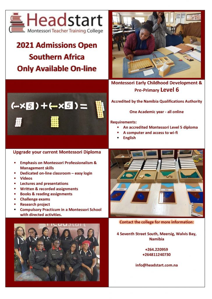Headstart Training Centre in Namibia