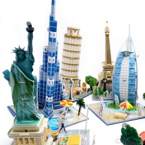 3-D Puzzles of world famous buildings