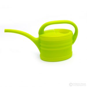 Green Plastic Watering Can for Toddlers