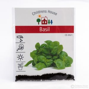 A packet of Basil Seeds
