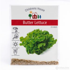 A Packet of Butter Lettuce Seeds