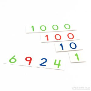 Small Number Cards 1 to 9000