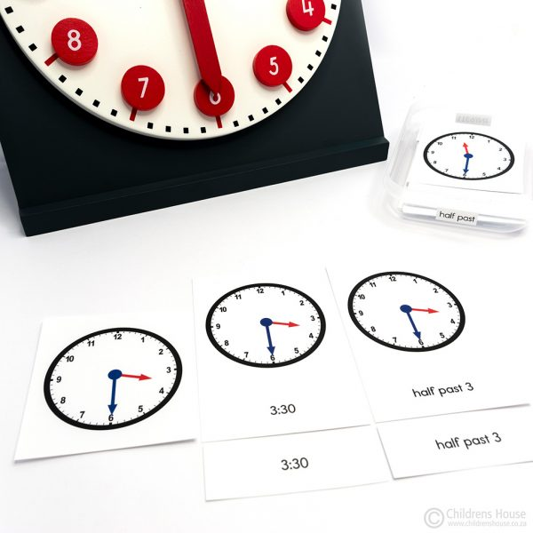 The Clock Activity Half Past