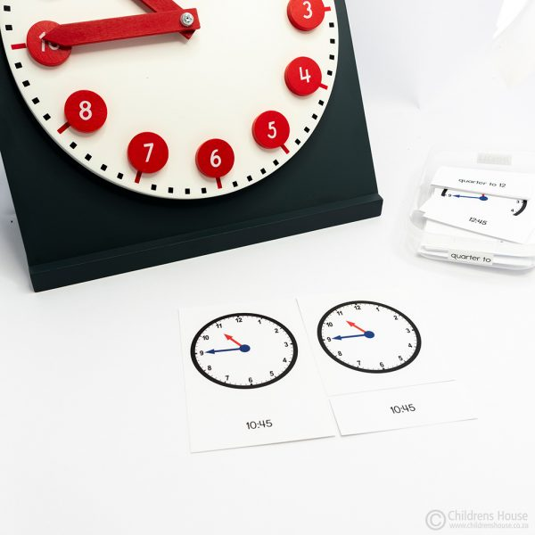 The Clock Activity Quarter to
