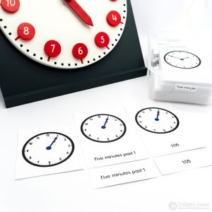 The Clock Activity Five Minute
