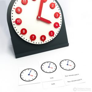 The Clock Activity One Minute