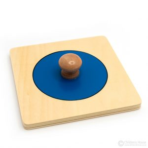 Single Shape Puzzle - Large Circle