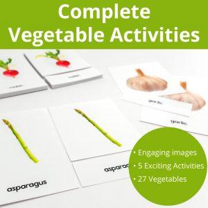 Complete Vegetable Activities
