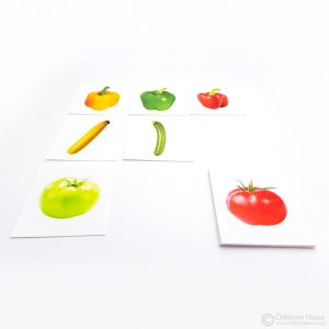 Fruit Matching - Same Fruit - Different Colours