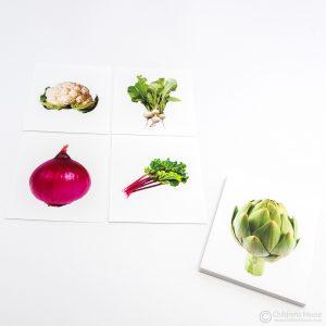 Different Vegetable Same Colour