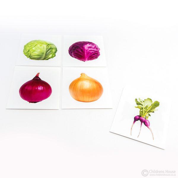 Same Vegetable Different Colour