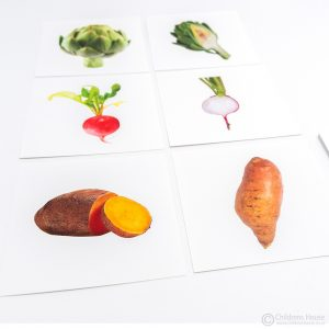 Vegetable Matching - Inside and Outside