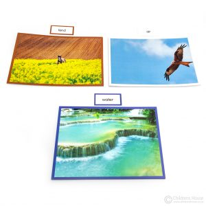 Land, Air & Water Cards
