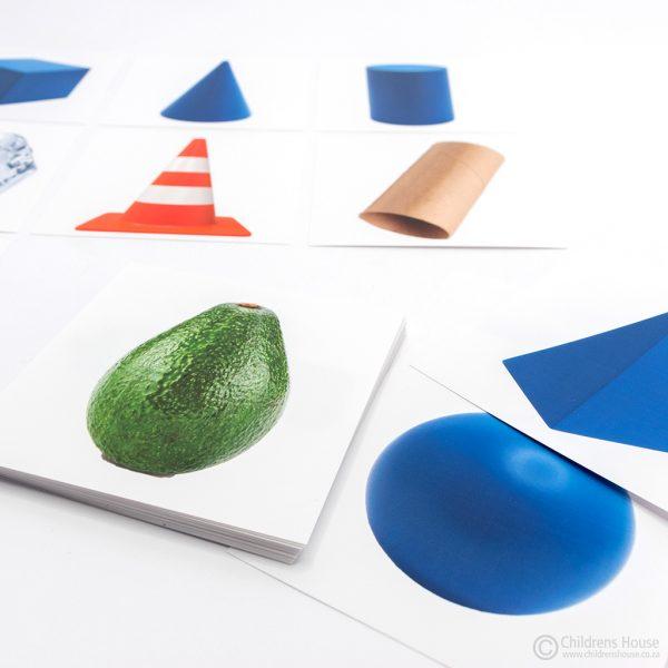 Visual Discrimination - 3D Shapes